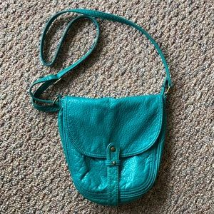 Teal blue/green handbag